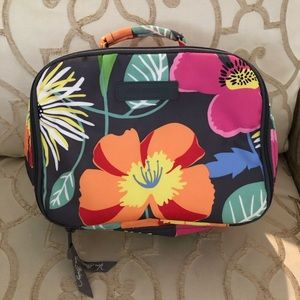 Vera Bradley Floral Lunch Bag